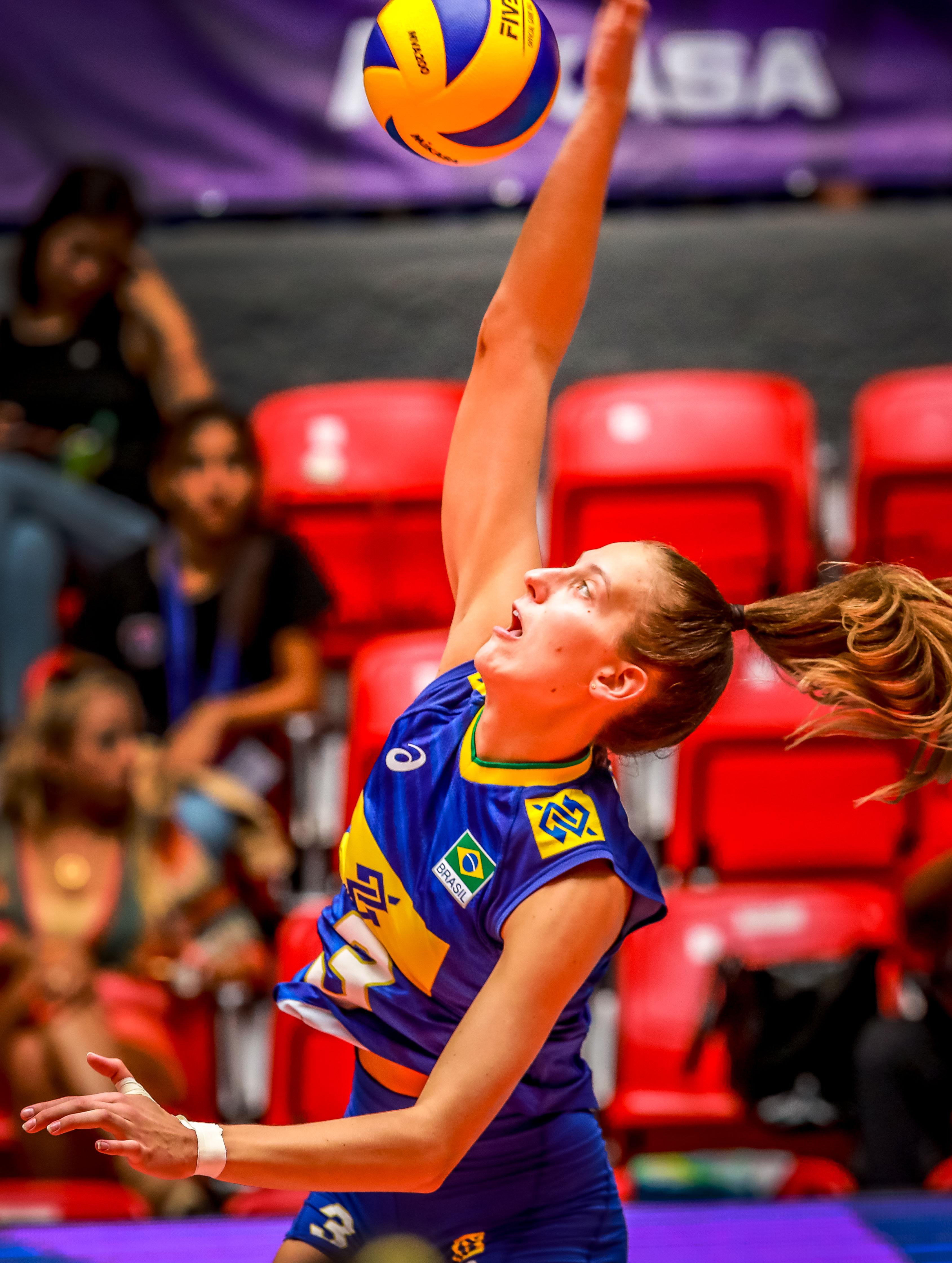 Post-Match - Brazil-Poland - FIVB Volleyball Women's U20